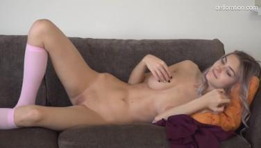 Casting cu o eleva pornista care merita sa fie starleta porno